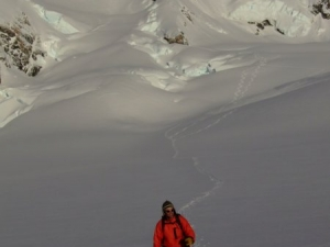 Skiing the Fox Glacier