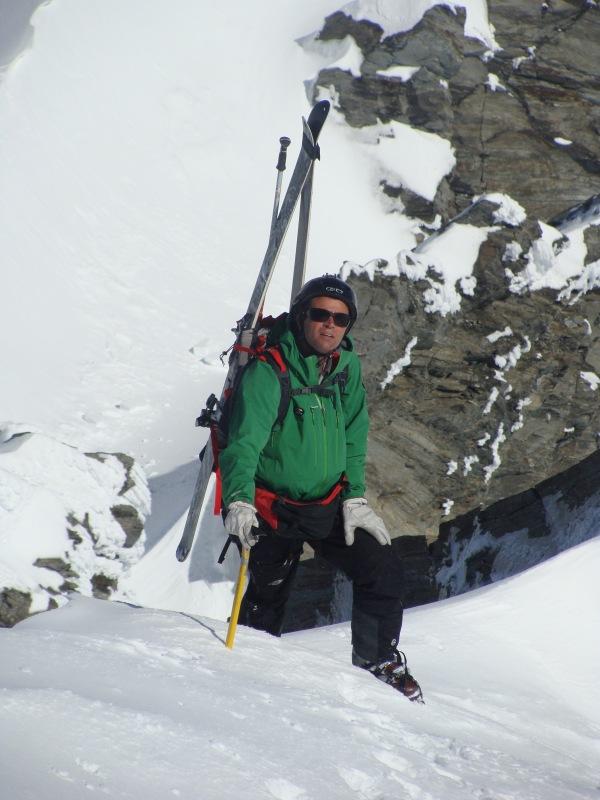 Mark Sedon climbs Mt Centaur